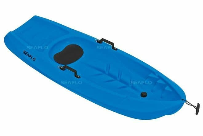 CHILD'S SIT ON TOP KAYAK (SF-1005) - BLUE kids junior childrens canoe COLLECT